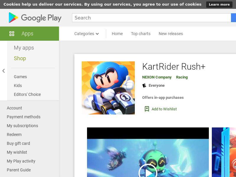 KartRider Rush+ KR Android CAP restart UTC+8 (GAID) (Hard KPI)