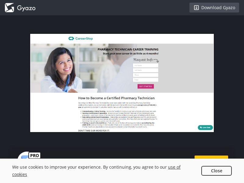 CareerStep Pharmacy Technician US | CPL