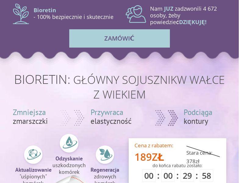Bioretin PL - rejuvenating cream mask