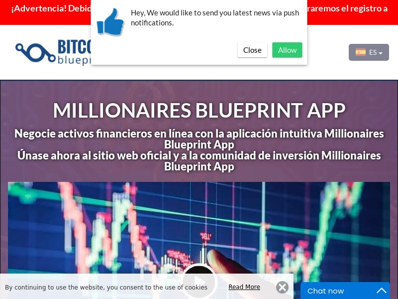 Millionaires Blueprint App Spanish 3222