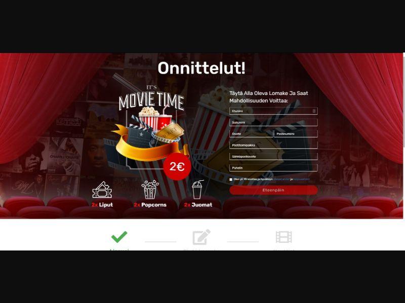 Cinema GiftCard - Sweepstakes & Surveys - Trial - [FI]