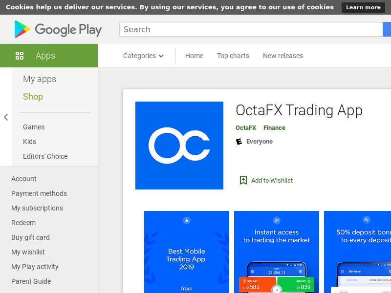 OctaFX Android CPI - India