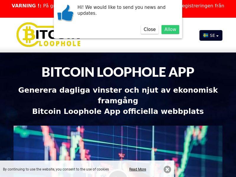 Bitcoin Loophole Pro Swedish 2079