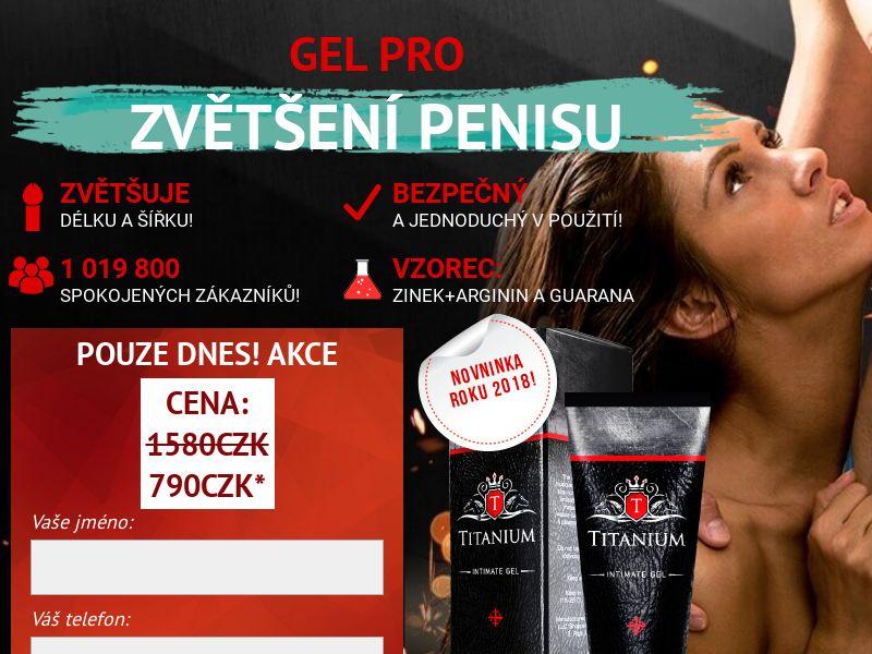 Titanium CZ - penis enlargement cream
