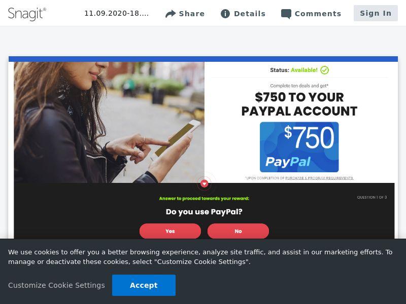 Paypal $750 - SOI | US