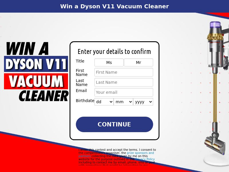 Win a Dyson V11 Vacuum Cleaner - SOI | NZ