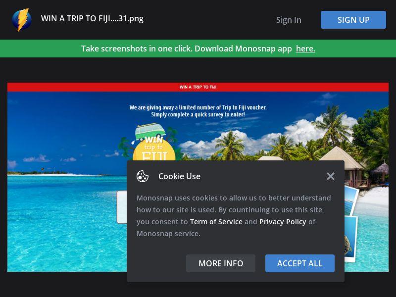 New Zealand (NZ) - Trip to Fiji (Responsive) - PL