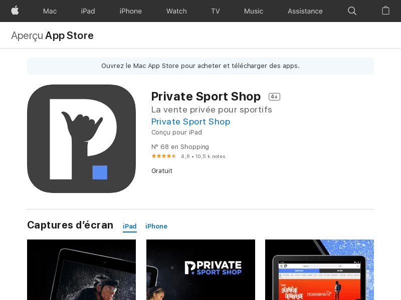 IT - Private Sport Shop - iOS12.0+ - INCENT <<*PENDING*PRIVATE OFFER*>>