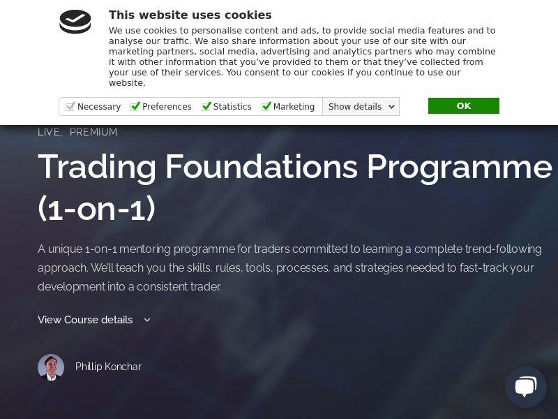 Trading Foundations Programme - Education (RevShare)