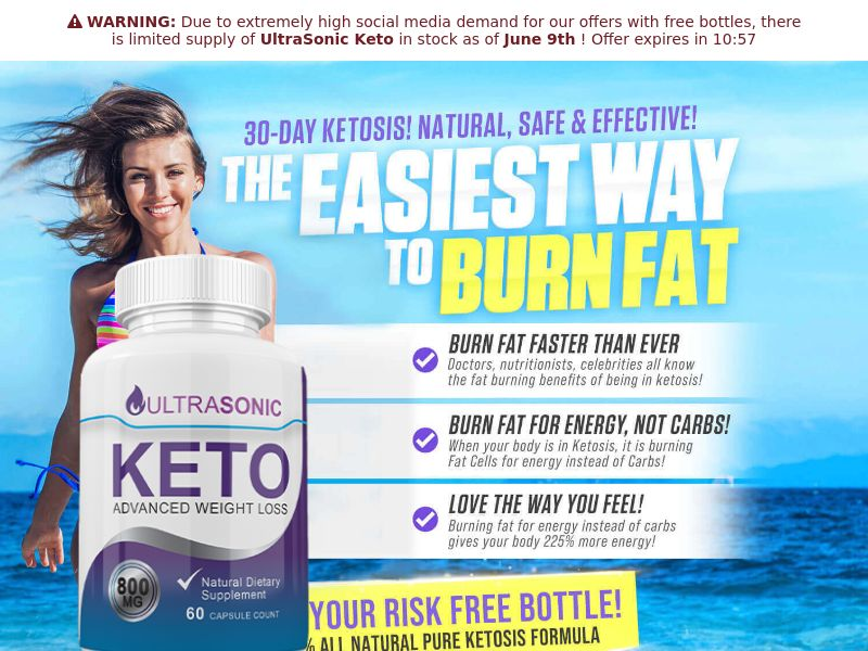 UltraSonicKeto [US] (Email,Social,Banner,Native,Push,Search) - CPA