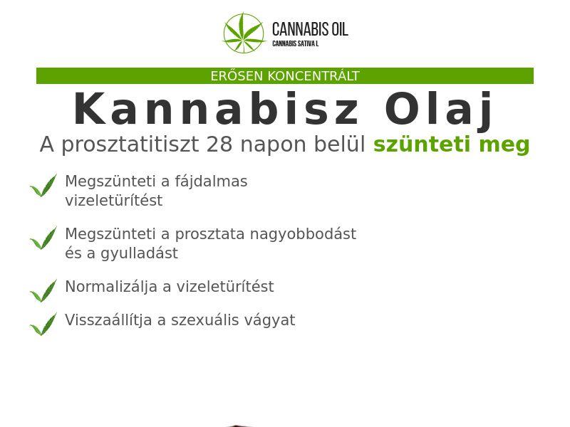 Cannabis Oil HU (prostatitis)