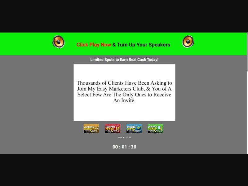 Home Business Package - $37 CTC - VSL - Biz Opp - SS - [AU, CA, NZ, UK, US]