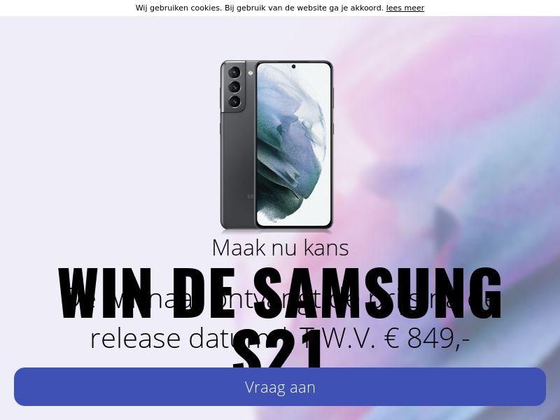 Samsung S21 - NL - SS