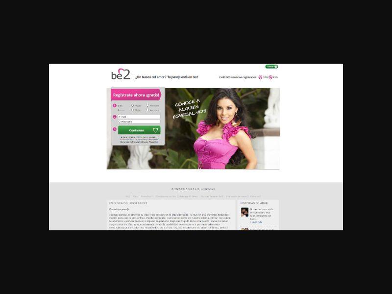 INTL Be2 - Dating 30+ (MX)