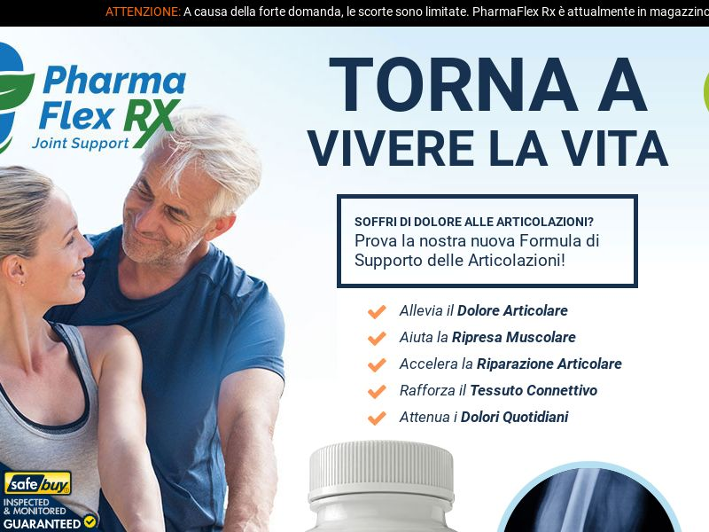 PharmaFlex Rx LP01 (ITALIAN) - Joint Support