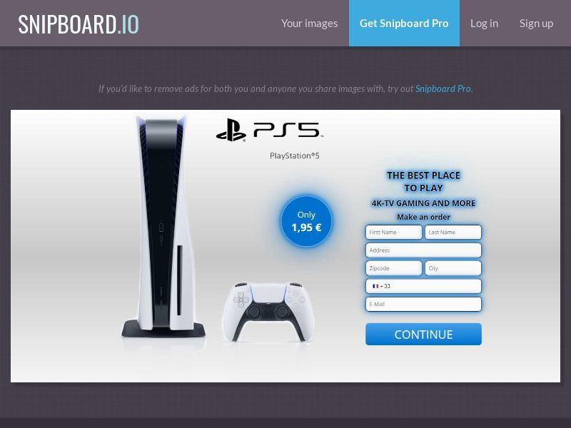 39631 - FR - G33K Playstation PS5 - CC submit