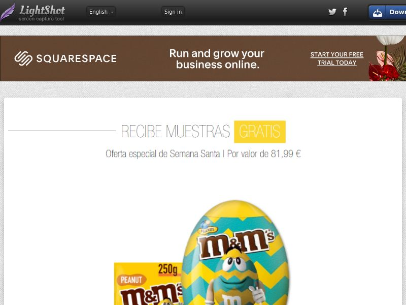 Portal Leads - M&M Easter (ES) (CPL) (Incent) (Personal Approval)