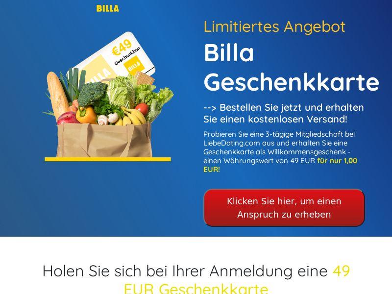 Billa (Supermarket Giftcard) - AT
