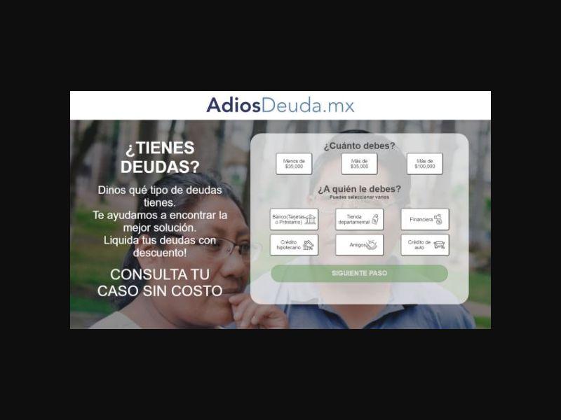 AdiosDeuda.mx - Debt Loans (MX)