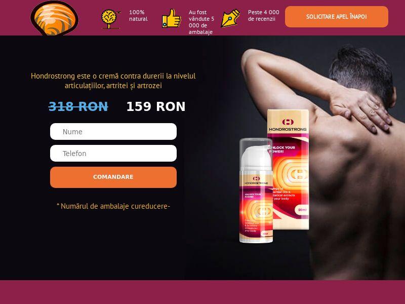 Hondrostrong RO - arthritis product
