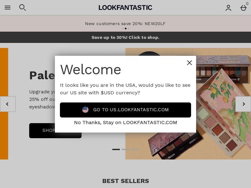 Lookfantastic - UK (GB), [CPA   CPS]