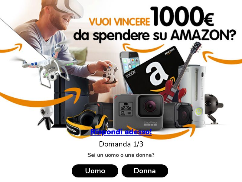 11338) [WEB+WAP] Amazon Voucher - IT - CPL