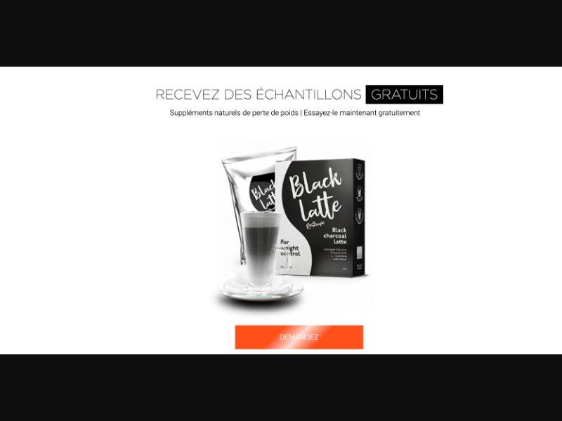 Black Latte - CPL SOI - FR - Sweepstakes - Responsive