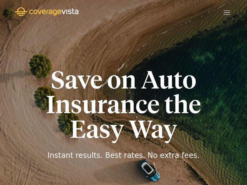 Coverage Vista - Auto Insurance (US) (CPL) (Personal Approval)