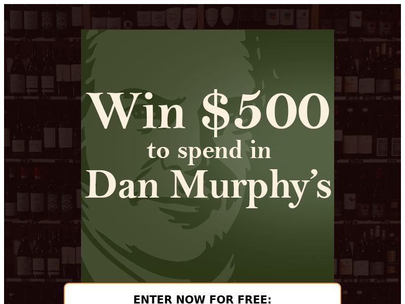 OX - $500 Dan Murphy's Voucher - AU