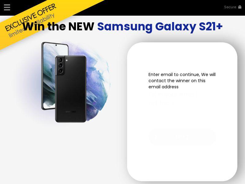 Win a galaxy S21+ - CA - CPL - SOI