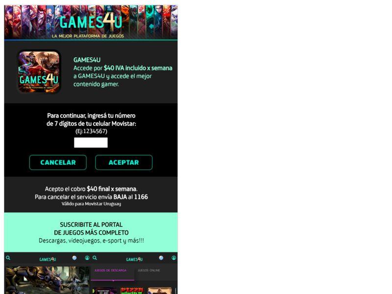 Games4U Movistar