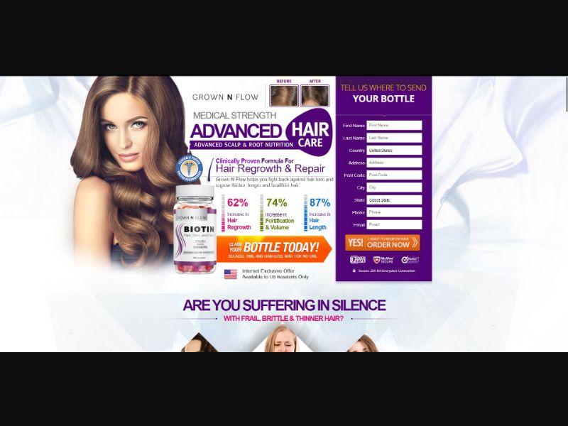 Grown N Flow Biotin - Hair Products - SS - [US]