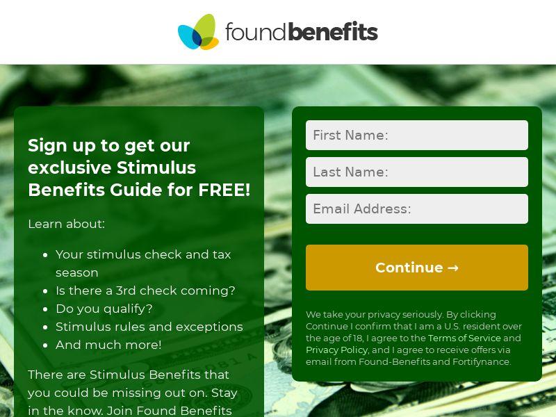 Found Benefits