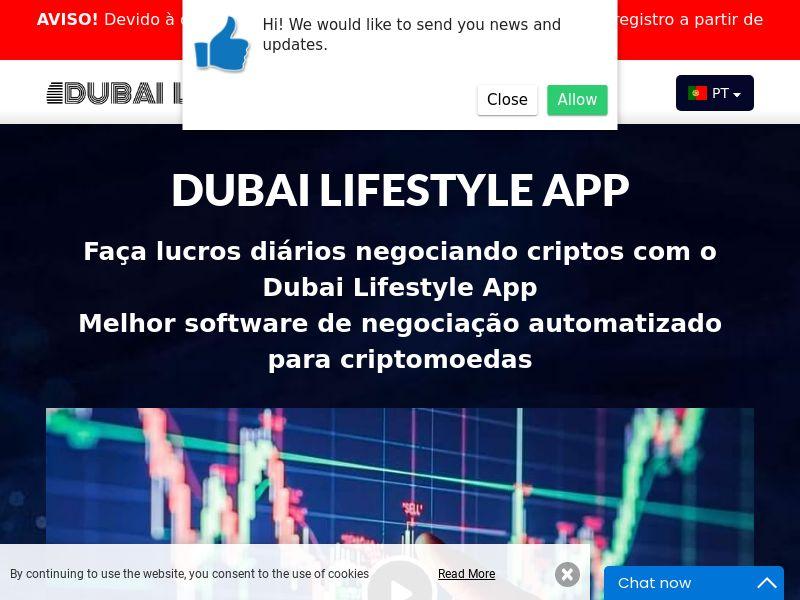 Dubai Lifestyle App Portuguese 2240