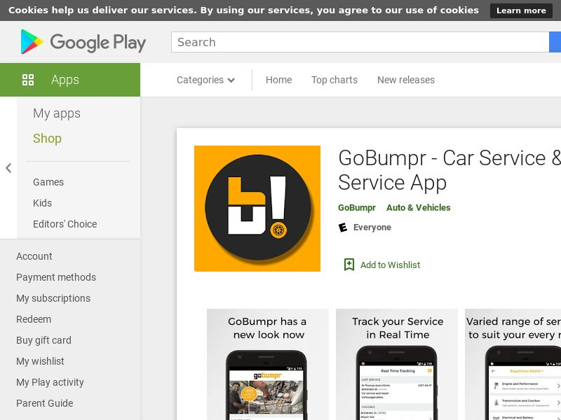 GoBumpr - Car Service & Bike Service App