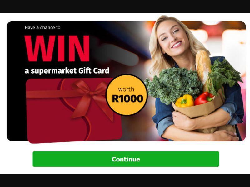 Freakapps Supermarket Voucher (ZA)