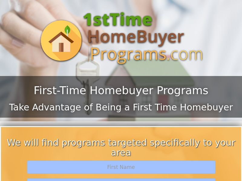 First time Home Buyer Program - First Page - CPL - US