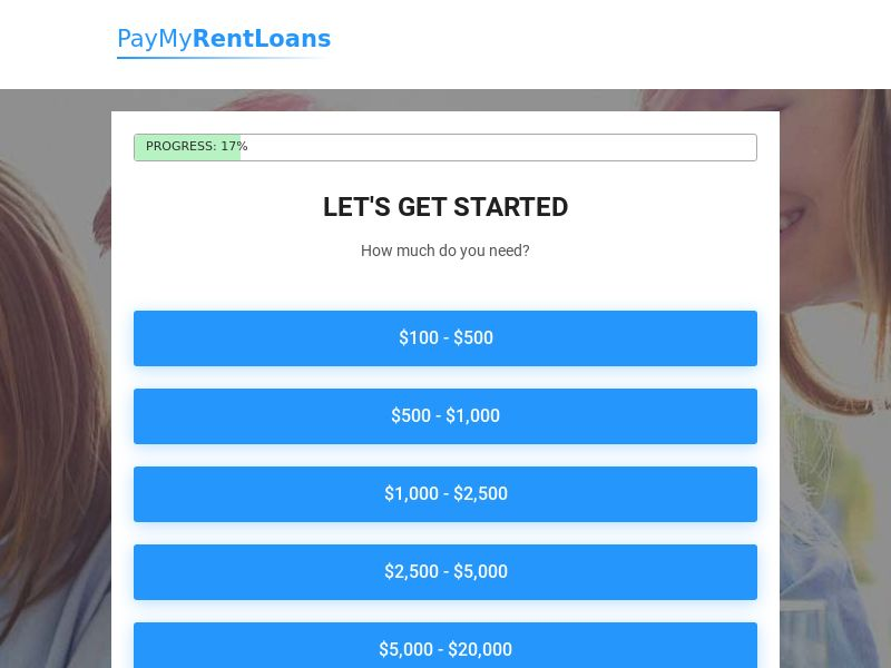 US - Pay My Rent Loans - Revshare