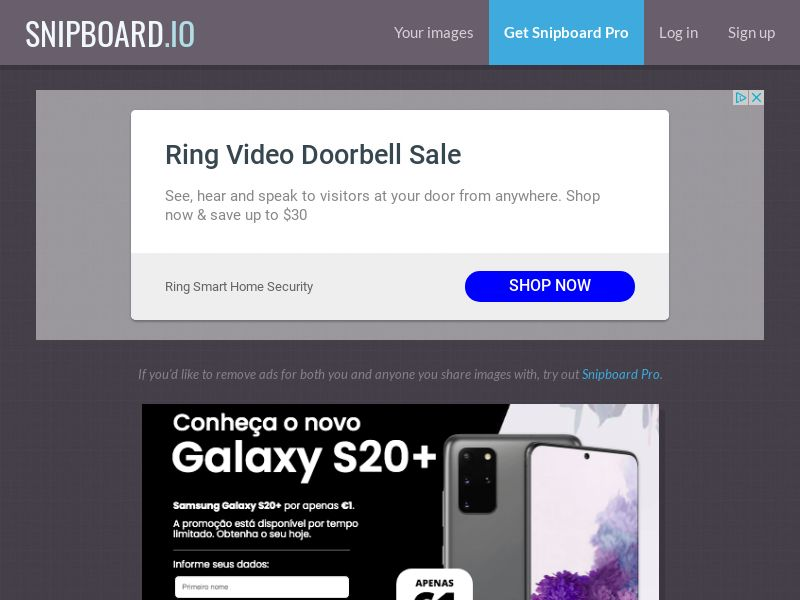 SteadyBusiness - Samsung Galaxy S20+ LP43 PT - CC Submit