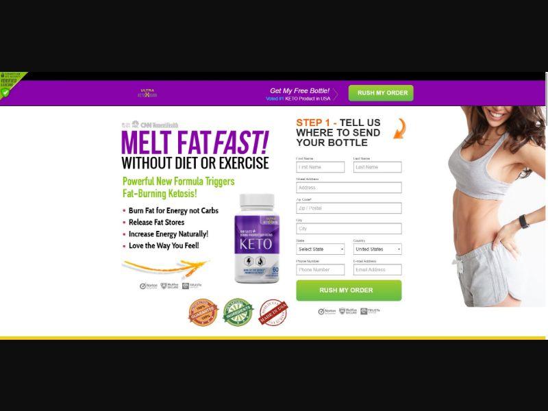 Ultra KetoXBurn - Diet & Weight Loss - SS - [US]