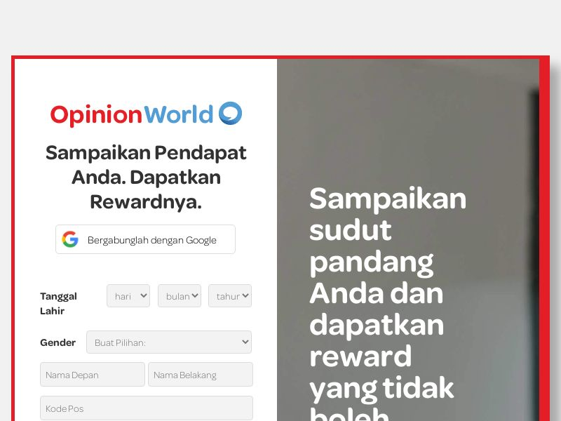 OpinionWorld Indonesia - ID
