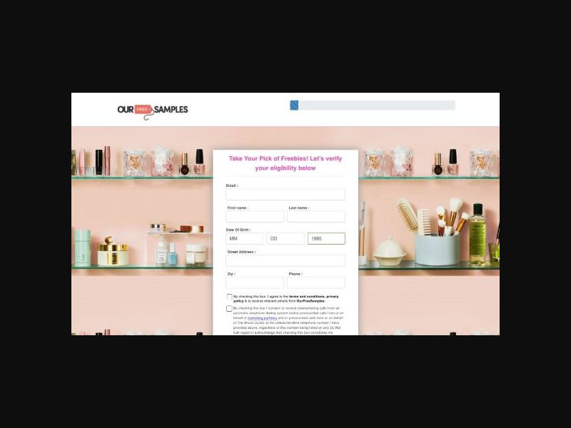 OurFreeSamples.com - Beauty Giveaway (US)
