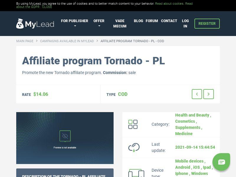 Tornado - PL (PL), [COD]