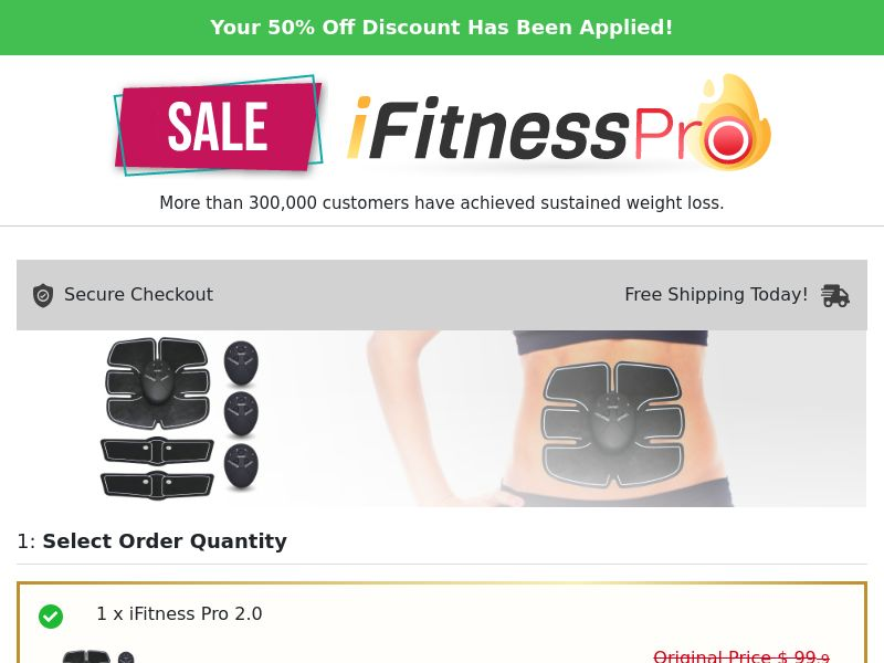 iFitness Pro 2.0 (PPS) - eCommerce - WW