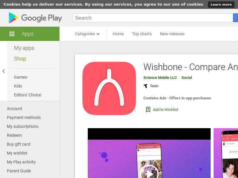 Wishbone Android US