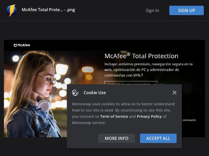 Peru (PE) - McAfee Total Protection 2021 (Responsive)