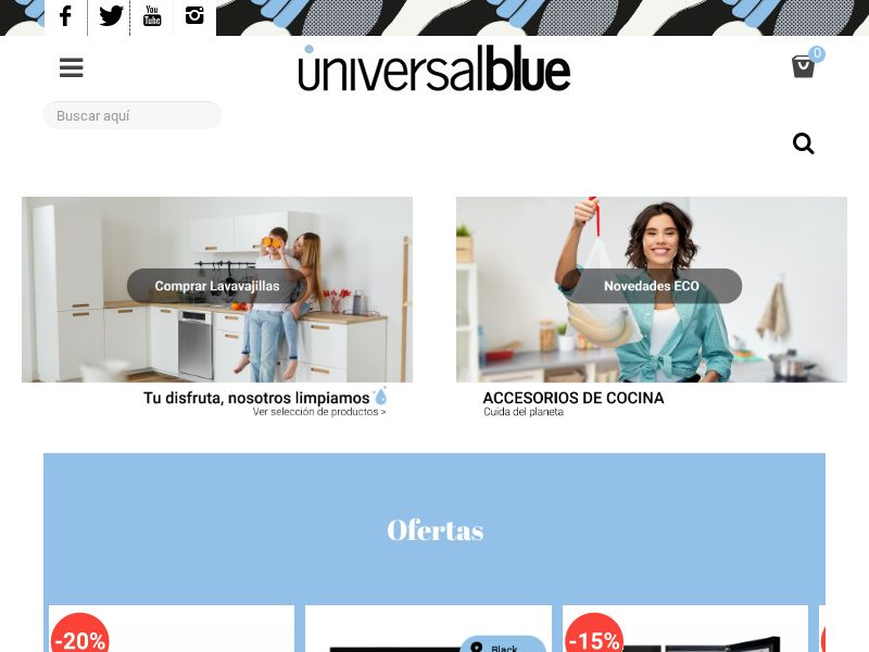 Universal Blue - ES (ES), [CPS], Appliances and Electronics, Household goods, Sell, shop, gift