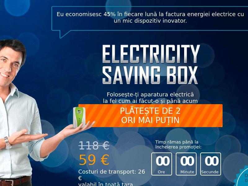 Electricity saving box - DE, AT