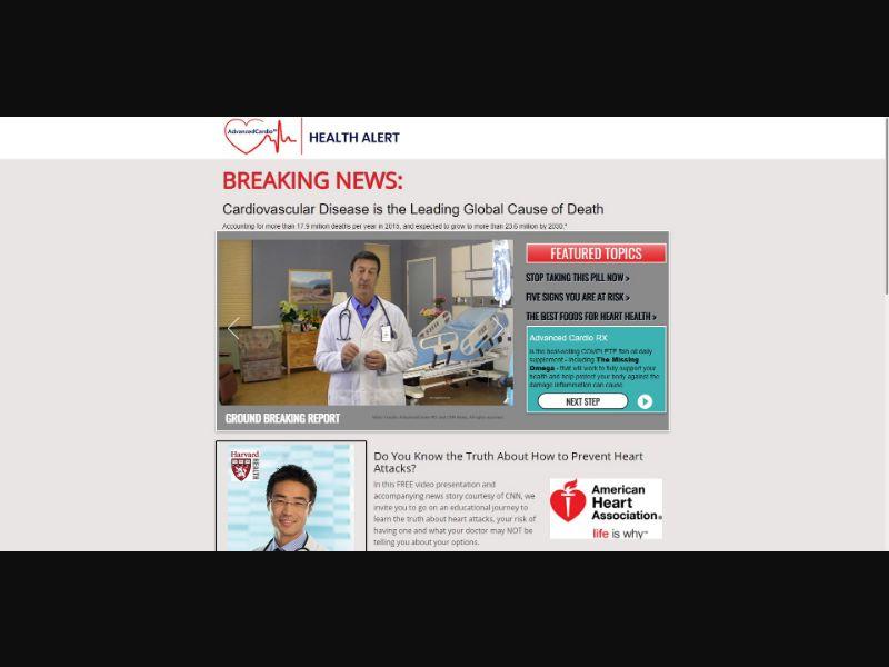 Advanced Cardio RX - VSL - Health - SS - [US]