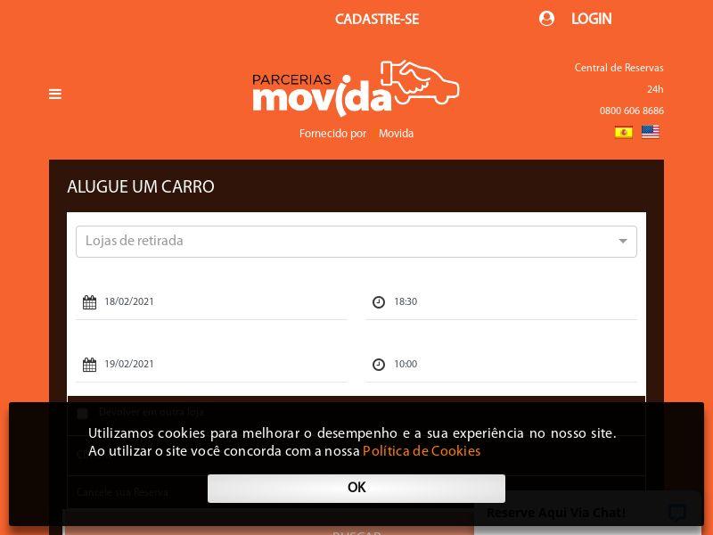 Movida BR CPA